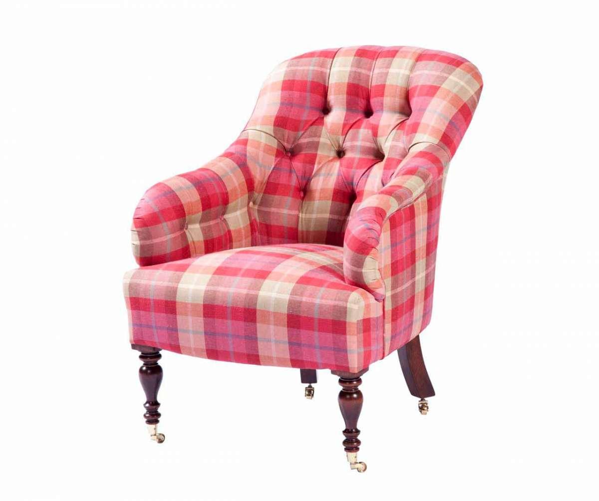 sessel auf rollen englische stilm bel von kai. Black Bedroom Furniture Sets. Home Design Ideas