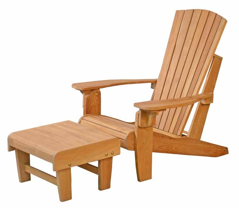 hocker fu hocker teak gartenm bel kai wiechmann. Black Bedroom Furniture Sets. Home Design Ideas