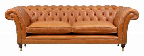 Chesterfield Couch Chelsea 3-seat