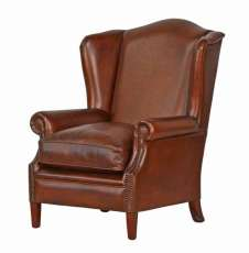 Wing Chair Vintage dark brown sofort lieferbar!