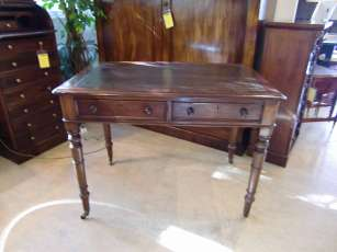 Writing Table Mahagoni Queen Victoria