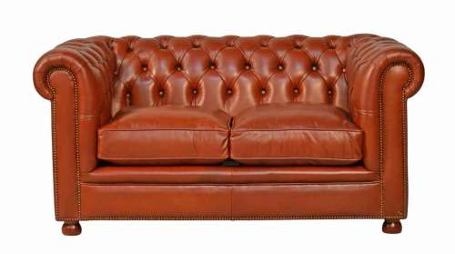 Chesterfield Sofa Philip 2-seat