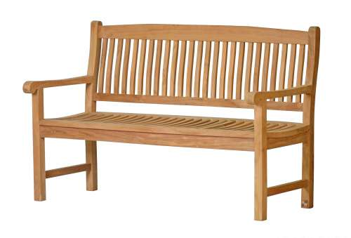 Teak Bank Messina Elegante Bank aus Teakholz
