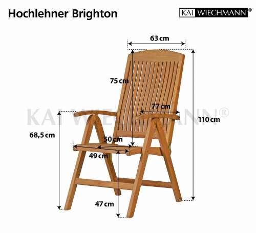 Hochlehner Brighton - Teak Gartenmöbel von kai-wiechmann.de