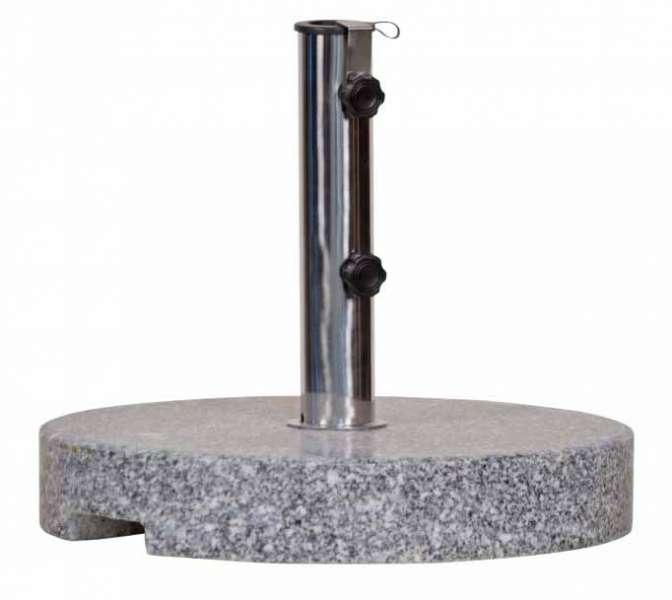 Sonnenschirmständer Granit 30 kg   Ideal für Schirme bis 3m