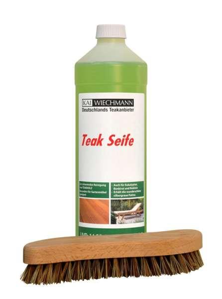 Teakseife Schnelle Reinigung Dank Kostenloser Bürste