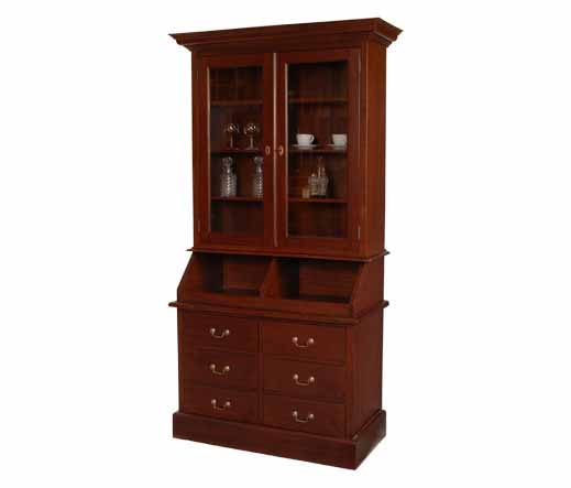 bakers cabinet mahagoni landhausm bel von kai. Black Bedroom Furniture Sets. Home Design Ideas