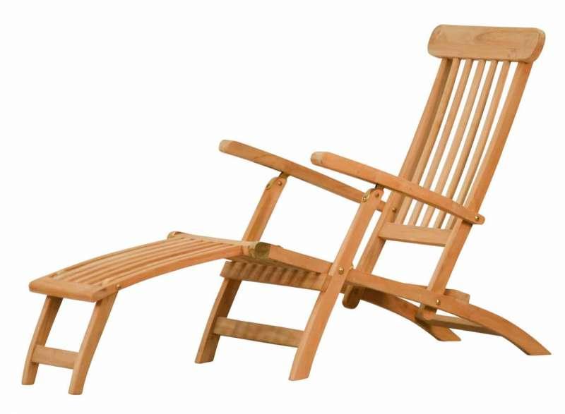 deckchair teakholz teak gartenm bel von kai. Black Bedroom Furniture Sets. Home Design Ideas