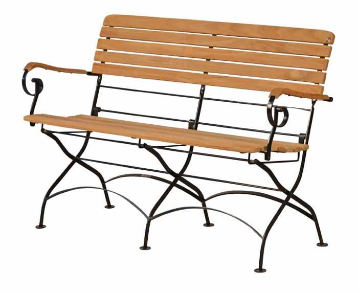 klappbank teakholz teak gartenm bel von kai. Black Bedroom Furniture Sets. Home Design Ideas