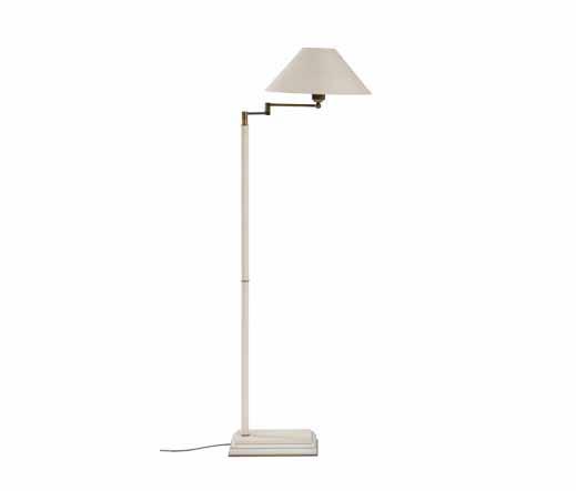 stehlampe mit schwenkarm lampen von kai. Black Bedroom Furniture Sets. Home Design Ideas