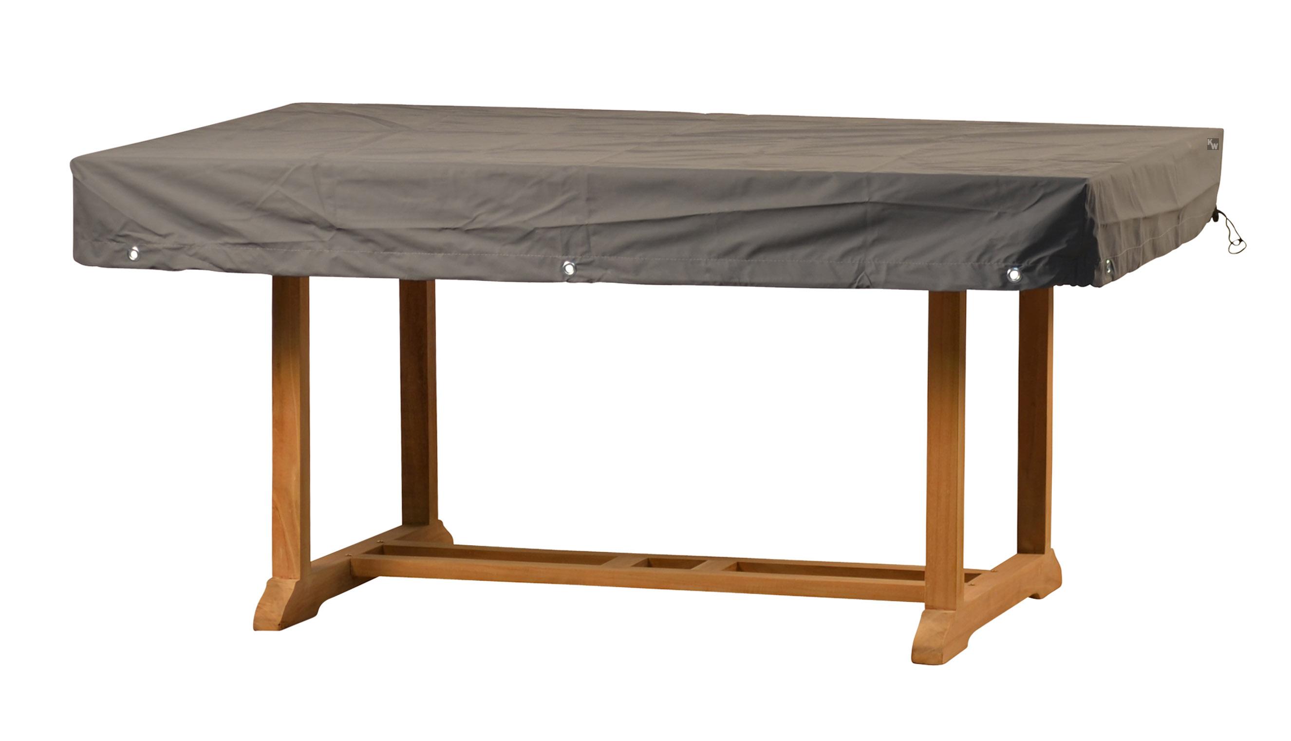 schutzhaube eckige tische abdeckungen von kai. Black Bedroom Furniture Sets. Home Design Ideas