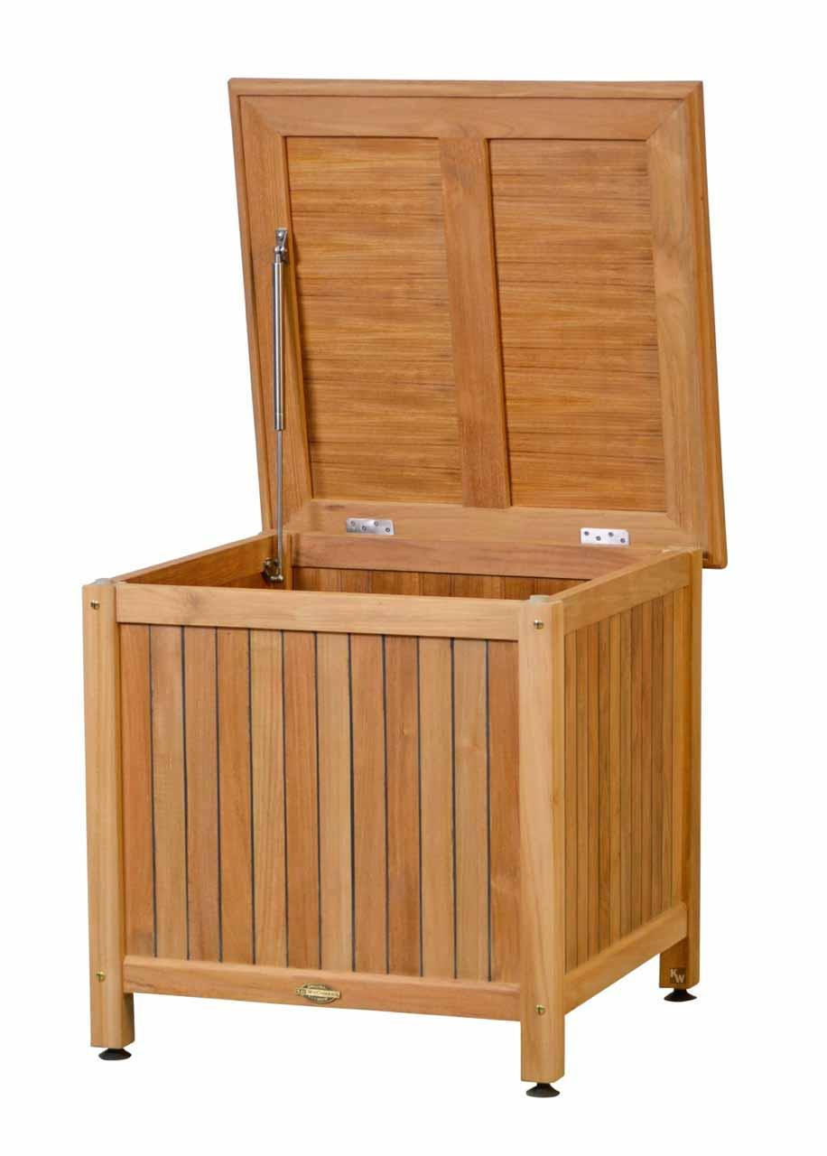 auflagenbox teak gartenm bel von kai. Black Bedroom Furniture Sets. Home Design Ideas