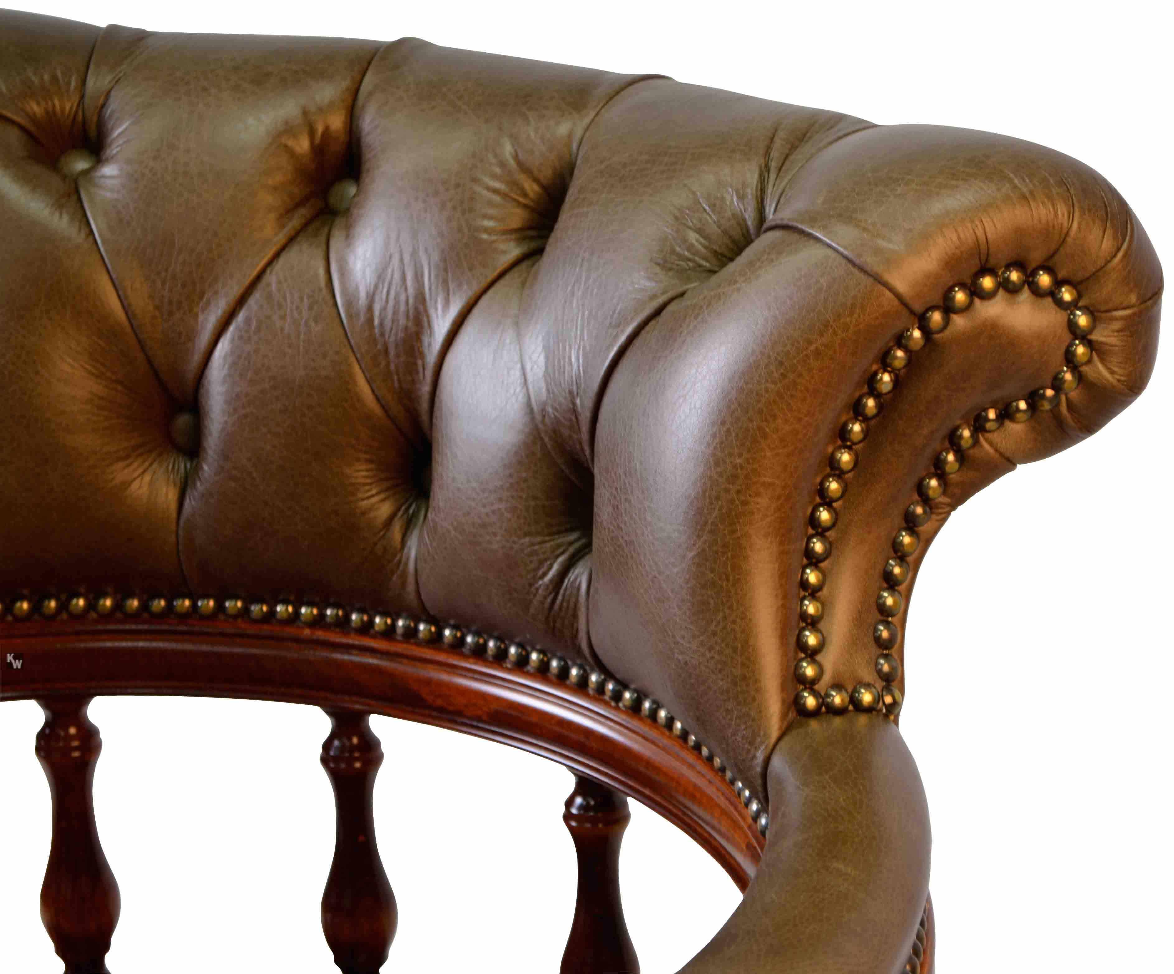 captain swivel gr n lederm bel von kai. Black Bedroom Furniture Sets. Home Design Ideas