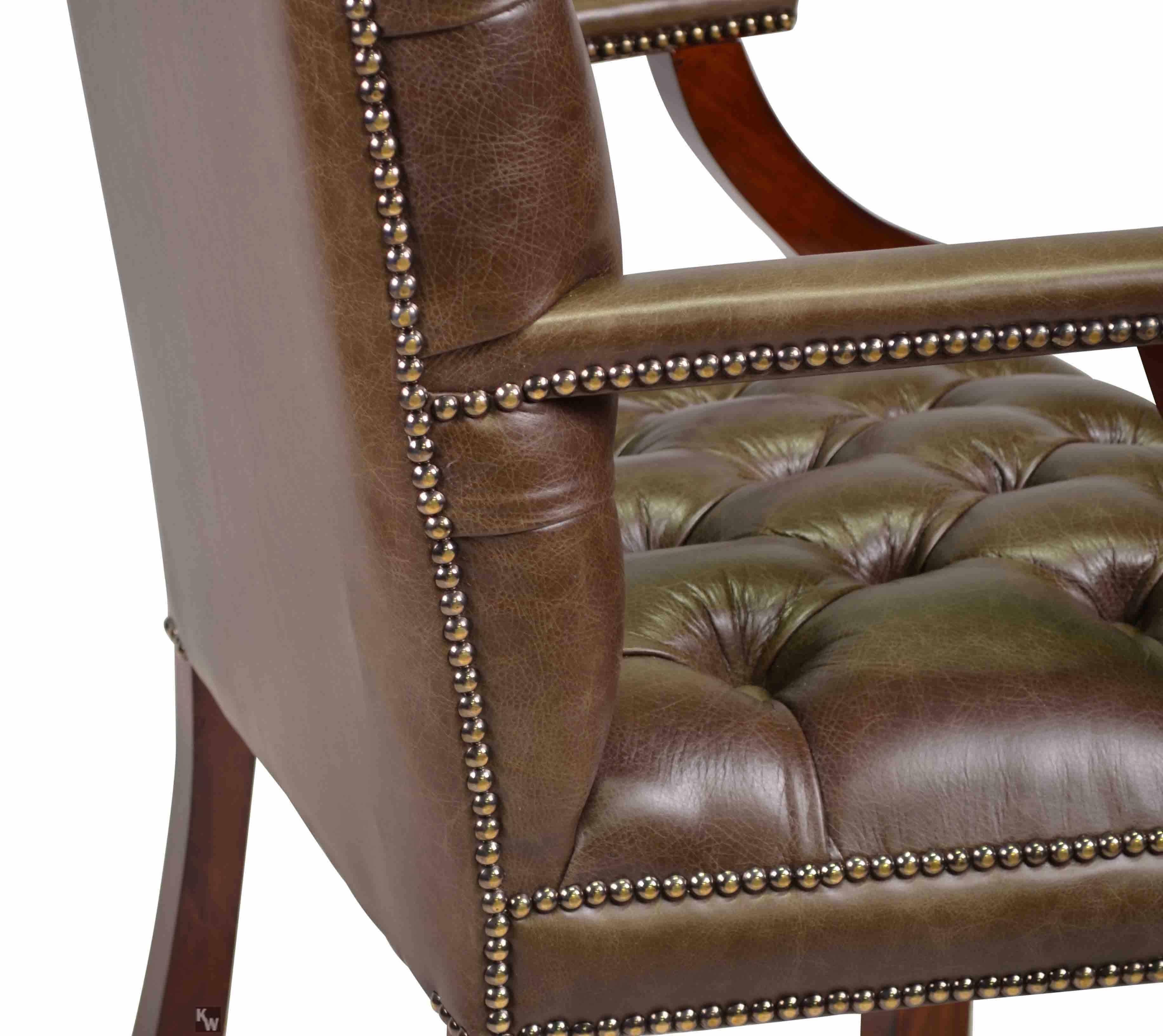 englischer b rosessel lederm bel von kai. Black Bedroom Furniture Sets. Home Design Ideas