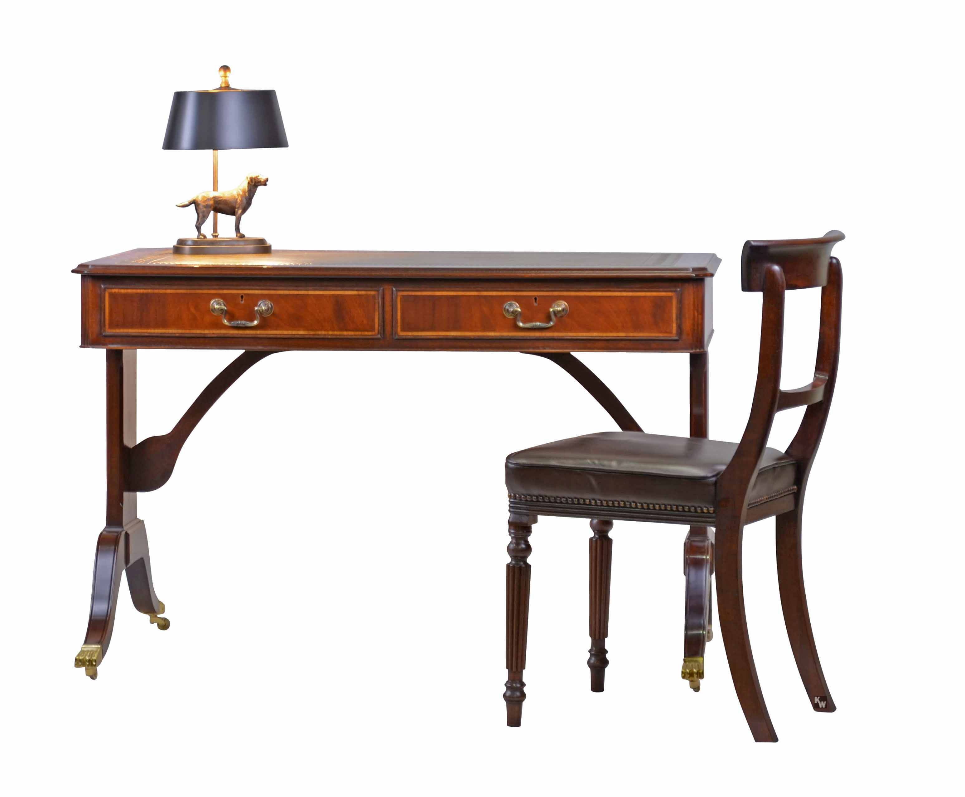 bureau plat englische stilm bel von kai. Black Bedroom Furniture Sets. Home Design Ideas