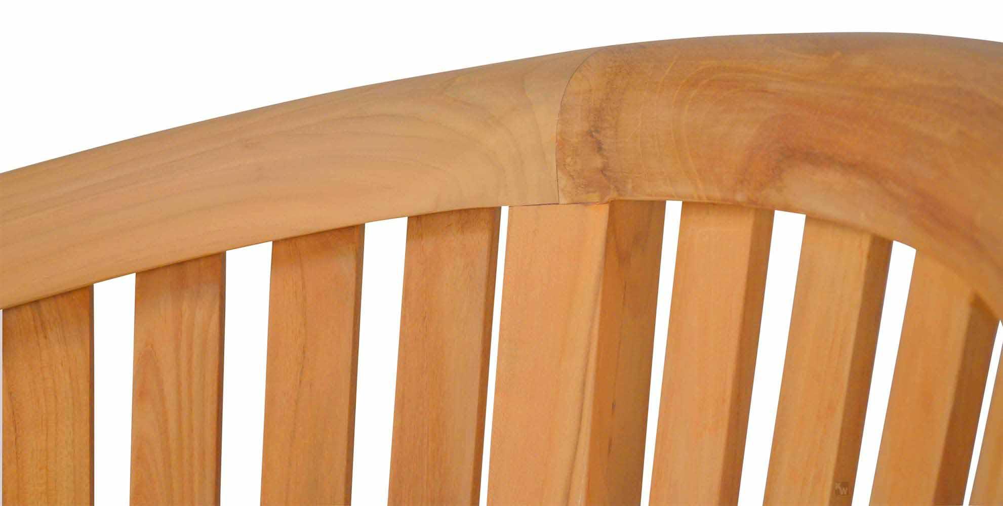 bananenbank teakholz teak gartenm bel von kai. Black Bedroom Furniture Sets. Home Design Ideas