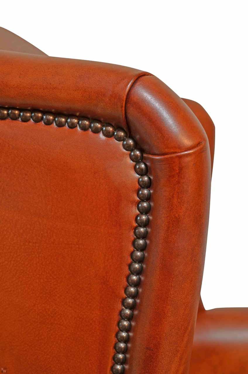 wing chair kn pfung lederm bel von kai. Black Bedroom Furniture Sets. Home Design Ideas