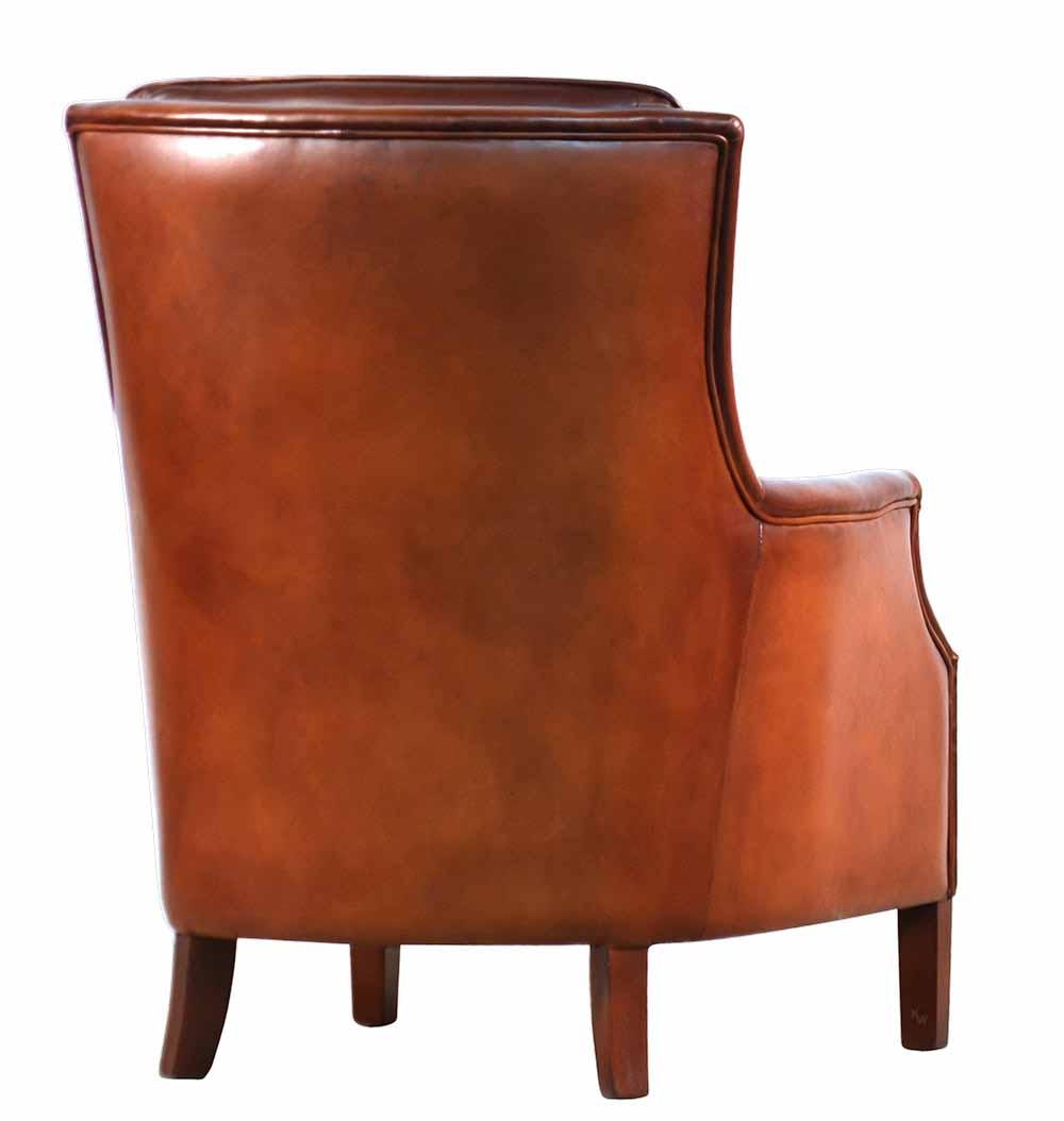 ledersessel rind lederm bel von kai. Black Bedroom Furniture Sets. Home Design Ideas