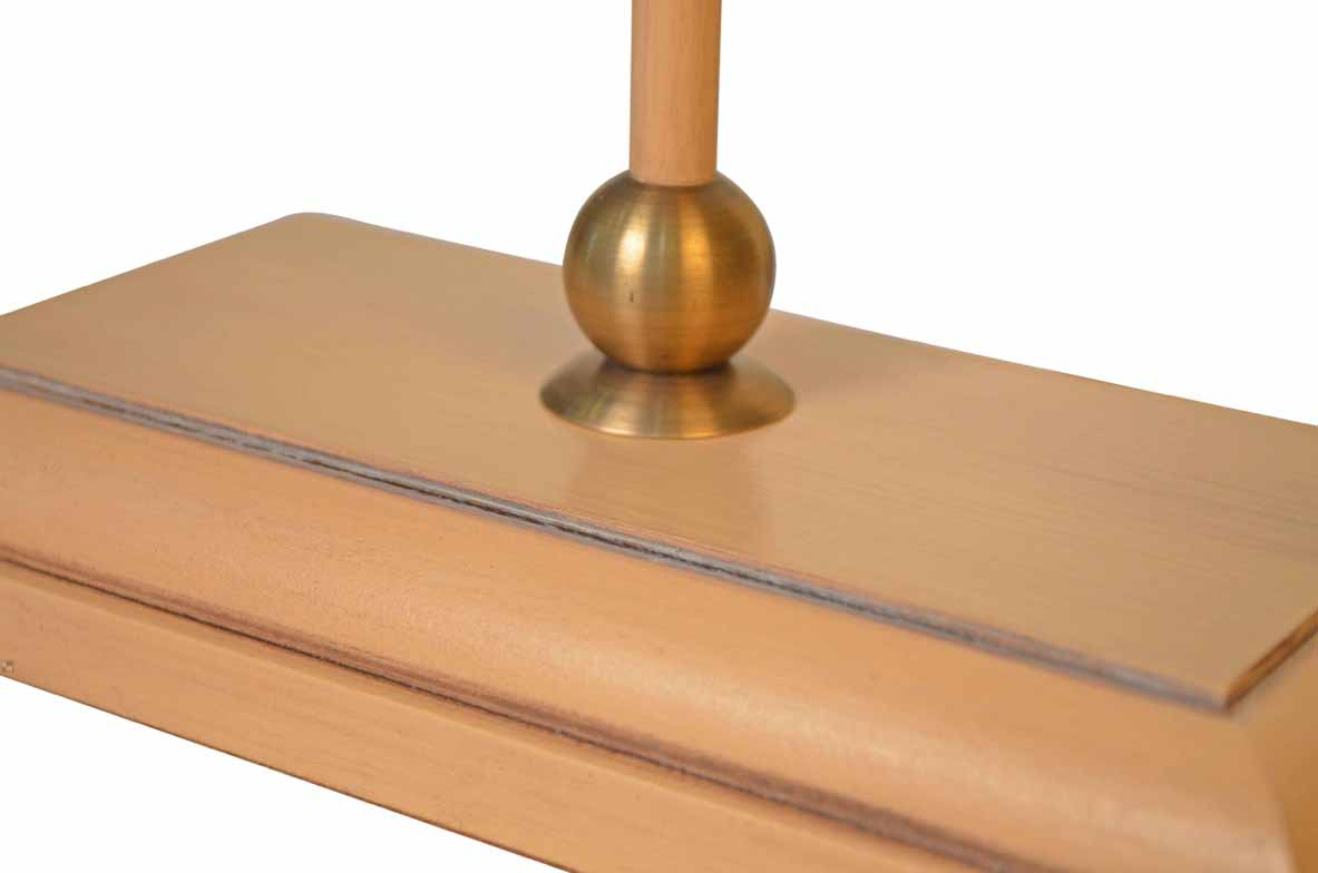 stablampe in apricot lampen von kai. Black Bedroom Furniture Sets. Home Design Ideas