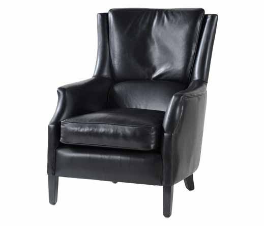 ledersessel schwarz lederm bel von kai. Black Bedroom Furniture Sets. Home Design Ideas