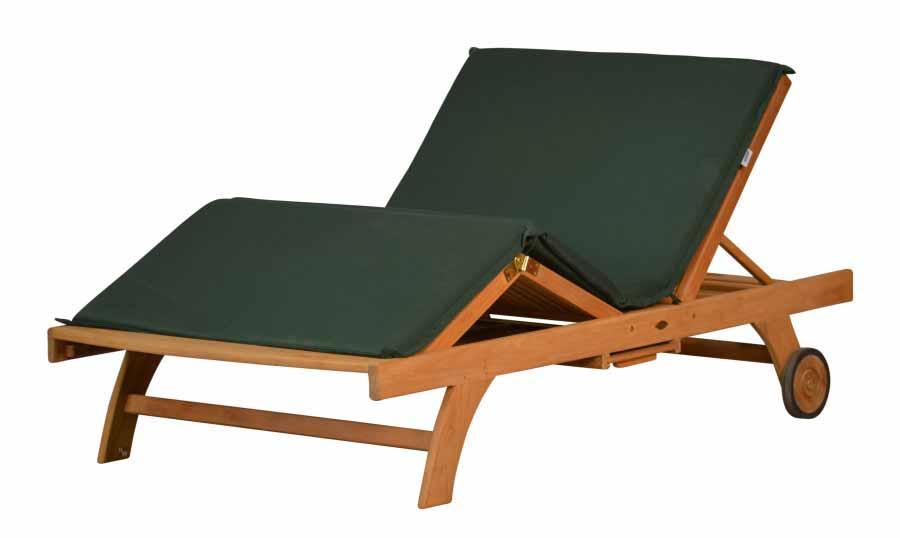 auflage doppelliege dralon auflagen von kai. Black Bedroom Furniture Sets. Home Design Ideas
